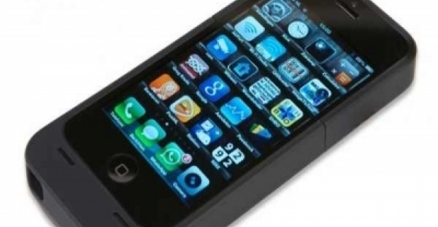 Nabíjacie puzdro pre iPhone 5 s kapacitou 2200mAh. Rýchle riešenie pre dlhšiu mobilitu vášho telefónu.