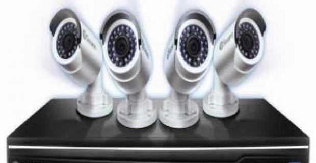 Online kamerový systém, ktorý ochráni vás aj váš domov. Bezpečnostné zariadenie so 4 kamerami zachytí nebezpečnú činnosť.