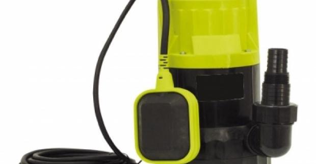 Skvelý pomocník na záhradu - praktické a výkonné kalové čerpadlo. Maximálna teplota vody 35°C a výkon až 600W.