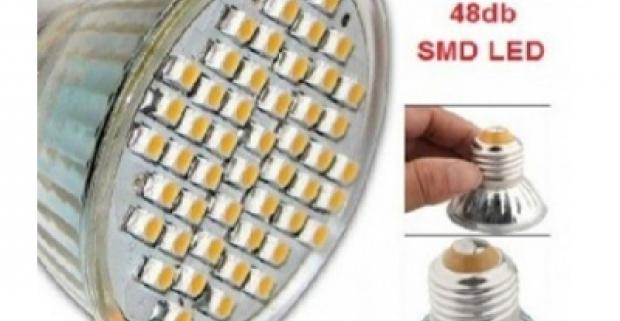Praktická LED žiarovka so závitom E27 má dlhú životnosť a nízku spotreba, úsporí až 80% energie. Životnosť až 100 000 hodín.