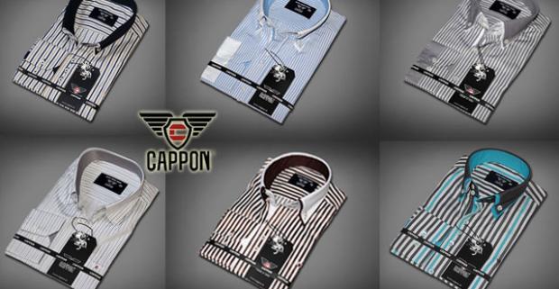 Moderné pánske košele s dlhým rukávom značky CAPPON. Obľúbené pánske košele pre všetkých mužov, ktorí majú radi ležérny vzhľad.