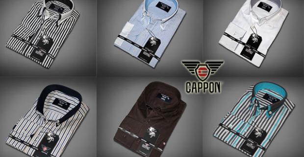 ef7c3fc2a956 Elegantné pánske košele Kvalita a luxus od značky CAPPON