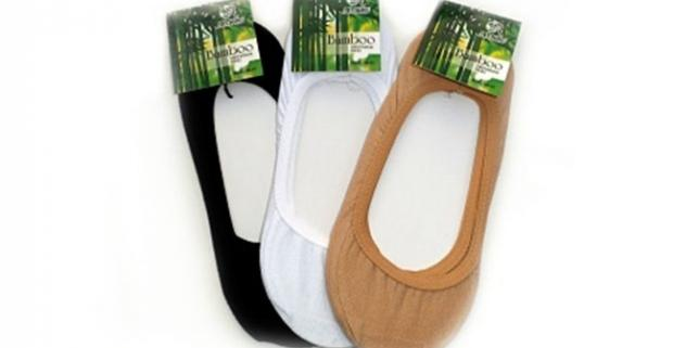 Bambusové ťapky do balerínok alebo členkové dámske aj pánske ponožky.  Ideálne do teplého jarného a letného počasia. d1a14938a5