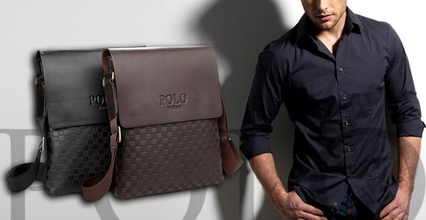 33bbff8bc Elegantné pánske tašky obľúbenej značky POLO. Ako príručná taška do  lietadla, počas služobných ciest, do práce, školy či len tak do mesta.