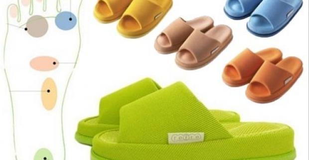 Kvalitné japonské zdravotné papuče. Stimulujú akupresúrne body, čím zmierňujú únavu, rôzne ťažkosti a bolesti.
