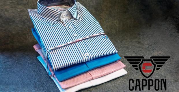 5d4062e77628 Štýlové pánske košele od CAPPON predstavujú elegantný a moderný darček pre  pánov