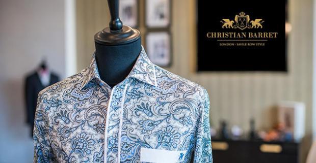 a27cd4ad0290 Košeľa šitá na mieru najvyššej britskej kvality Christian…