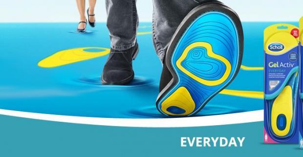 48036a92f69 Scholl Gélové vložky do topánok everyday. Každý deň…