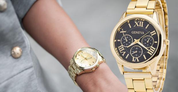 Štýlové dámske športové či elegantné hodinky Geneva. Jedným z  neodmysliteľných módnych doplnkov pravej ženy sú hodinky. 22e79acd5a7