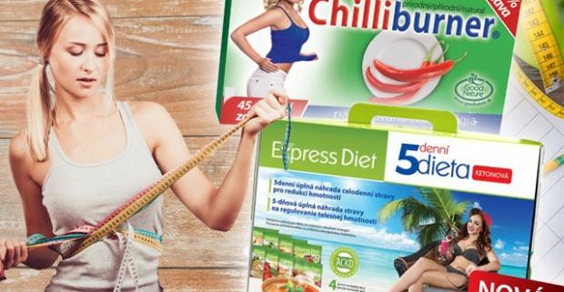 5-dňová diéta Express Diet alebo Chilliburner. Pomáha pri kontrole hmotnosti a udržiavať zdravú črevnú mikroflóru.