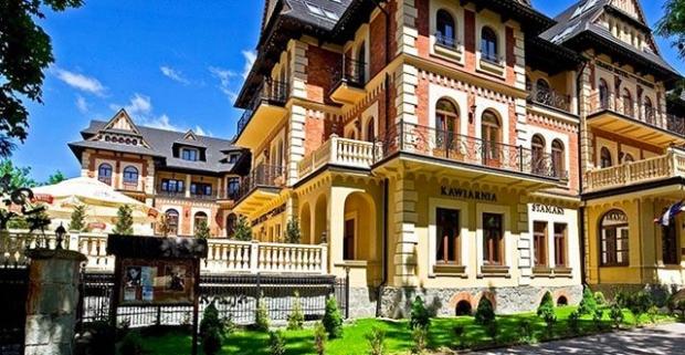 Vráťme sa spolu na začiatok 20.storočia a užime si eleganciu a galantnosť doby v Zakopanom. Luxusný wellness pobyt v 4* Grand Hotel Stamary.
