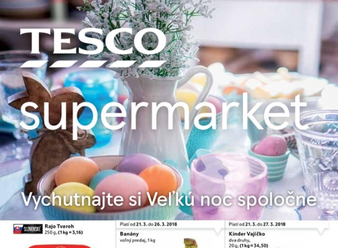 Tesco - Supermarkety