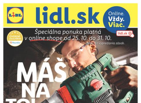Lidl - magazín