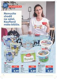 2. stránka Kaufland letáku