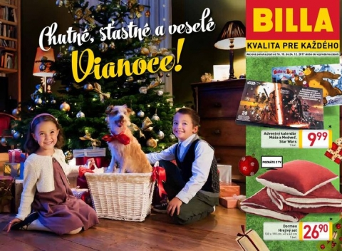 Billa - Vianoce s Billou