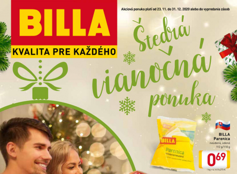 Billa - Katalóg Vianoce