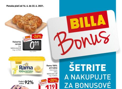 Billa - Bonus