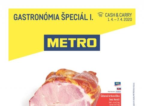 METRO - Gastronómia špeciál I.