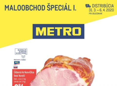 METRO - Maloobchod špeciál I. distribúcia