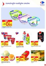 3. stránka Carrefour letáku