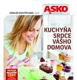 Asko nábytok Katalóg kuchyne 2014