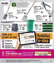 40. stránka Hornbach letáku