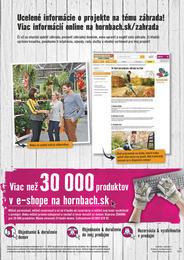 23. stránka Hornbach letáku