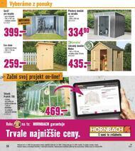 56. stránka Hornbach letáku