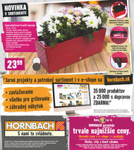 21. stránka Hornbach letáku