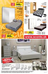 12. stránka Sconto nábytok letáku