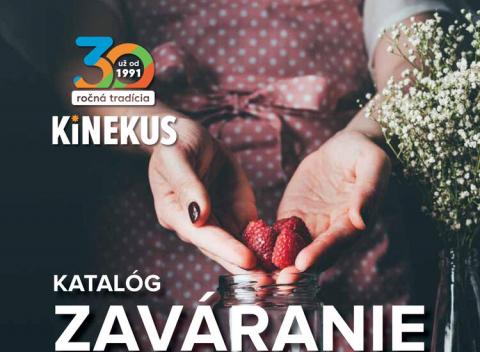 Kinekus - Zaváranie 2021