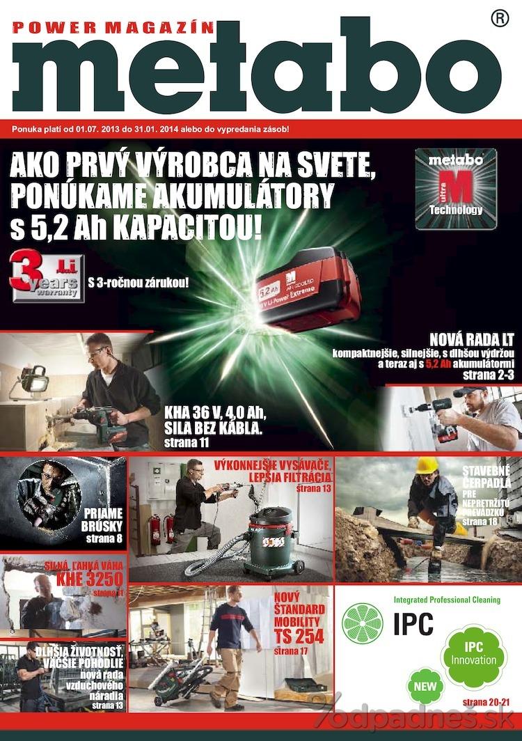 1. stránka Profitex letáku