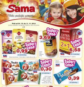 SAMA Plus - aktuálny leták