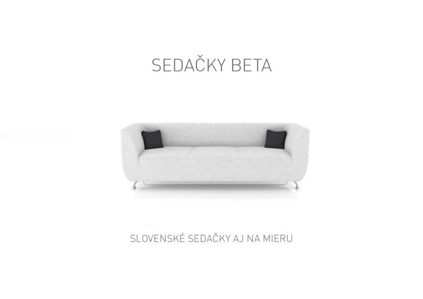 1. stránka BETA Trenčín letáku