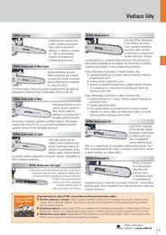 37. stránka Stihl letáku