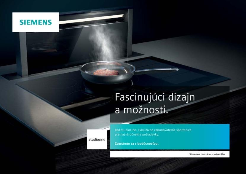 1. stránka Siemens letáku