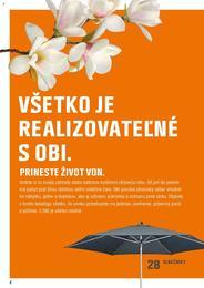2. stránka OBI letáku