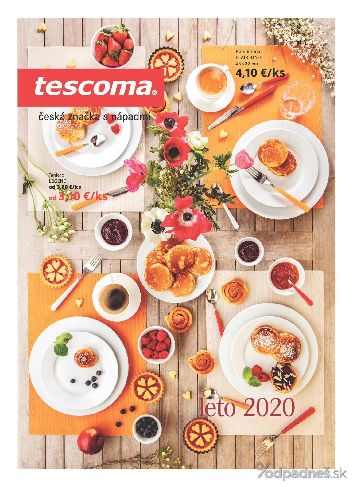 1. stránka Tescoma letáku